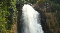 Falling Water at High Cliff Waterfalls video