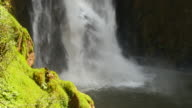 Falling Water from High Cliff Waterfalls video