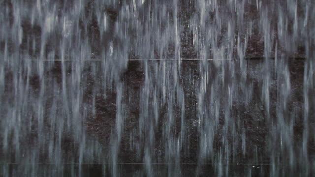 HD Falling Water Texture Loop (1080/24P) video