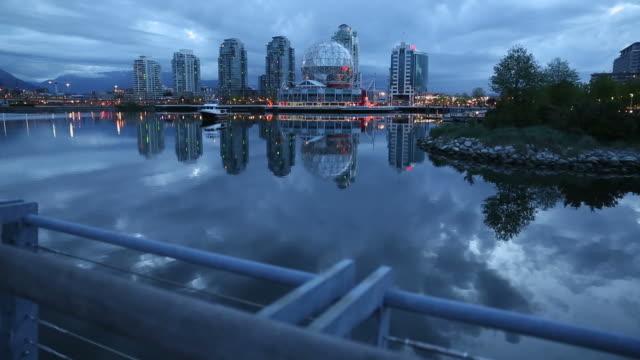 False Creek Dawn, Vancouver dolly shot video