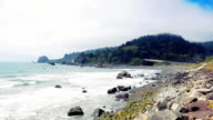 False Klamath Cove in Redwood National Park video