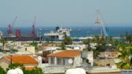 Famagusta Old Town View, Northern Cyprus video