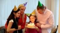 Family birthday party video