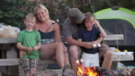 Family camping video