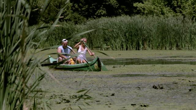 Family Canoeing video
