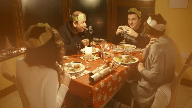 Family Christmas Dinner video