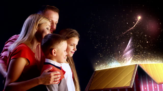 Family Christmas Magic gift video