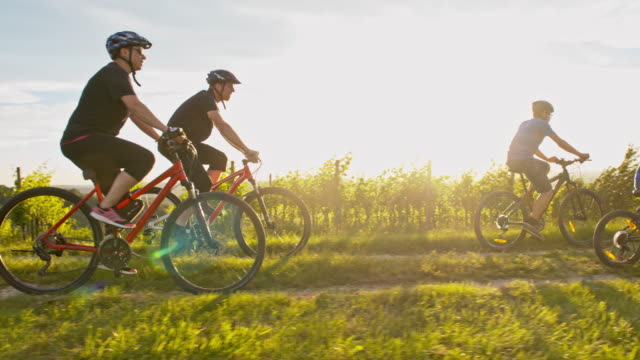 WS Family cycling to their country cottage video