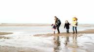 WS Family enjoying on beach video