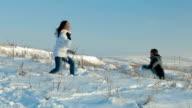 family fun in winter video