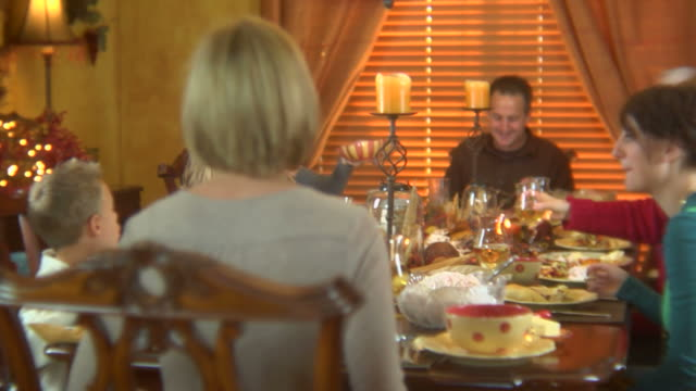 Family Holiday Dinner video