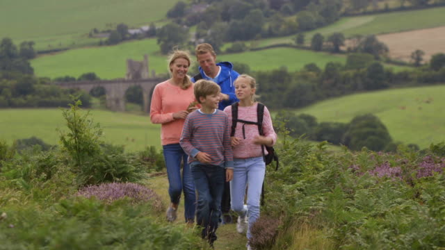 Family in the Countryside video