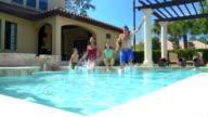 Family Pool Lifestyle video