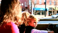 Family Riding The Trolley video