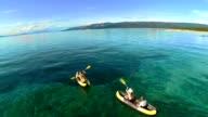AERIAL Family Sea Kayaking video