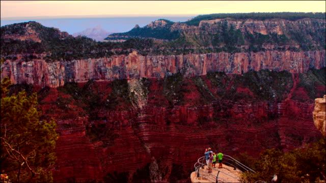 Family Visits Grand Canyon video