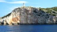 HD: Famous Beacon On Island Lastovo video