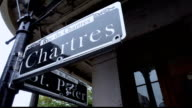 Famous Chartres street in French Quarter New Orleans video