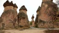 Famous city  Cappadocia in Turkey video