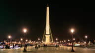 Famous Obelisk at Place de la Concorde video