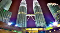 Famous Petronas towers video