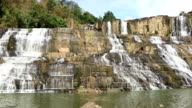 Famous Vietnamese Pongour Waterfall video