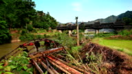 Famous watermill in Sanjian county,China video