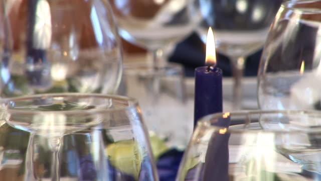 HD: Fancy table setting video