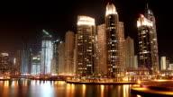 Fantastic Night Dubai Marina, United Arab Emirates video