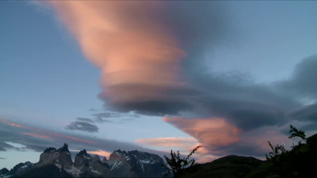 Fantastic time lapse clouds video