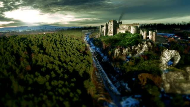 fantasy castle video