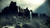 Fantasy landscape video