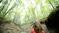 Fantasy Woman Lost In The Woods video