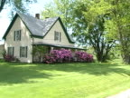 farm house in spring video