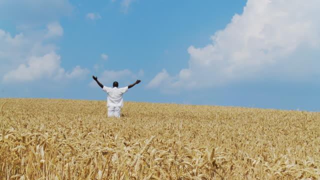HD DOLLY: Farmer In His Field video