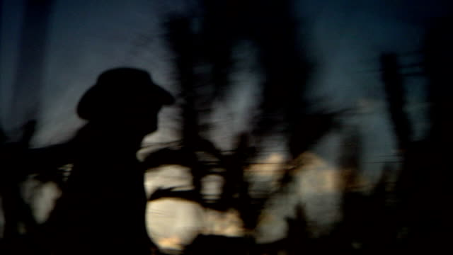 farmer silhouette track video