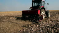 Farmer Sowing Wheat video