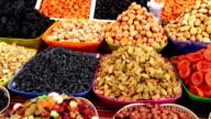 Farmers market goods video