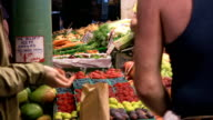 Farmers Market Transaction video