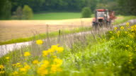 Farming. Agriculture background. video