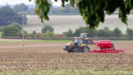 Farming in the English countryside video