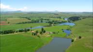 Farms And Farmland  - Aerial View - KwaZulu-Natal,  uMgungundlovu District Municipality,  uMngeni,  South Africa video