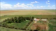Farms And Farmland  - Aerial View - Orange Free State,  Fezile Dabi District Municipality,  Moqhaka,  South Africa video