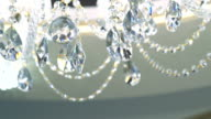 Fashion crystal lamp on the ceil video