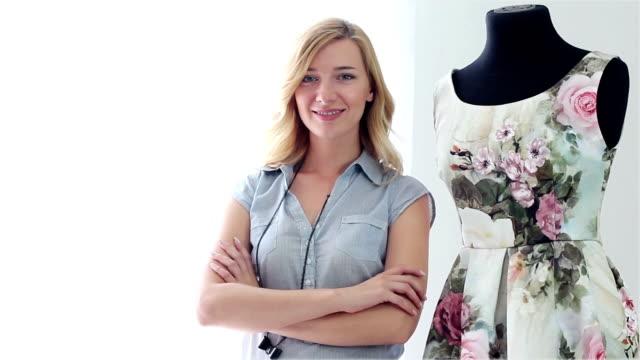 Fashion designer video