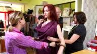 HD: Fashion Designers At Work video