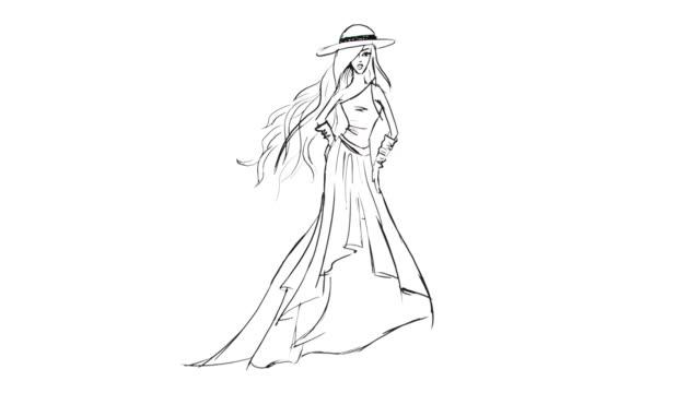 Fashion Sketch video