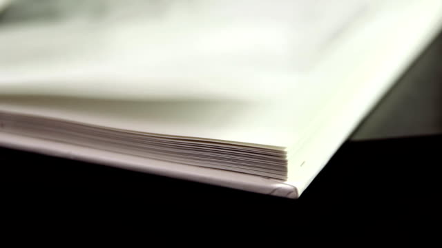 Fast Flipping Book Pages video