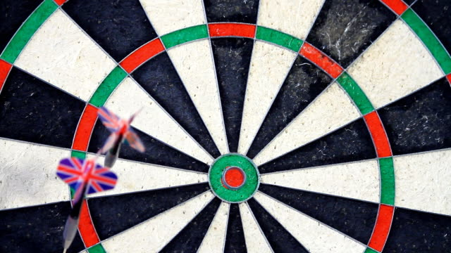 Fast Motion - Playing Darts video