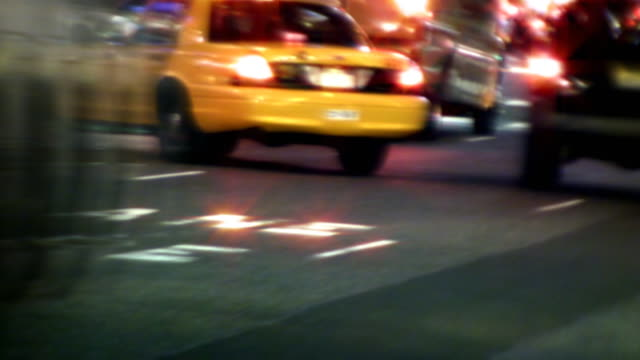 Fast Moving NYC Traffic video